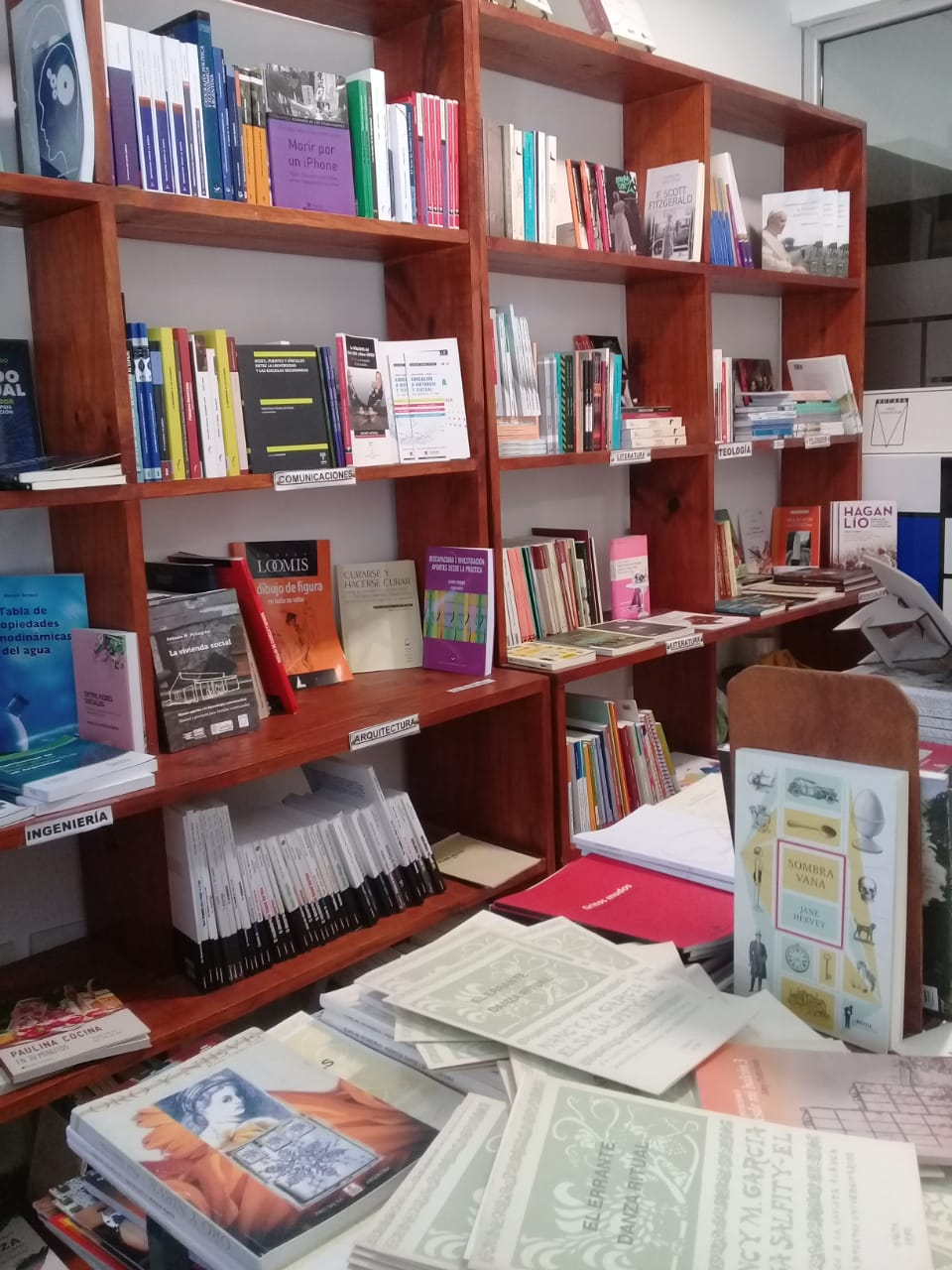 Interior de librería